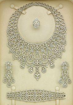 Diamond Parure by Elie Chatila