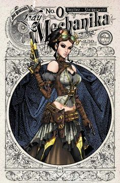 Lady Mechanika: possible costume idea (version 4)
