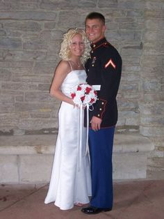 The day I became a United States Marine Corps Wife 3~2~08