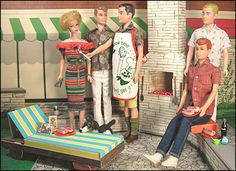 Weenie Roast from Hey Sailor Greetings - What Barbie really wants is a stiff hi-ball.