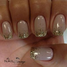 French tip glitter gel nail art sparkle tips proartcat Glitter Gel Nails, Shellac Nails, Gel Nail Art, Nail Polish, Pink Glitter, Pink Gold Nails, Nails With Glitter Tips, Gold Sparkle Nails, Glitter French Tips