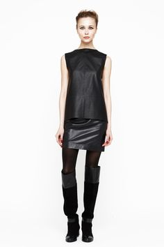 Not something i'd typically wear/buy, but i really like this! All leather. Joie