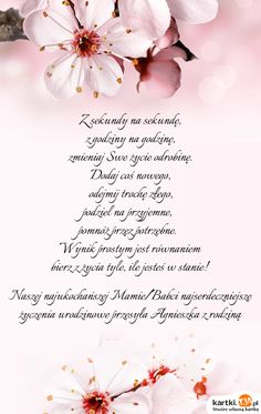 Znalezione obrazy dla zapytania życzenia ślubne Birthday Quotes, Flower Decorations, Wish, Decoupage, Congratulations, Diy And Crafts, Life Quotes, Happy Birthday, Cards