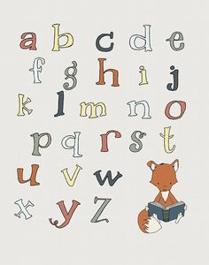 Alphabet Nursery Art :  You can CUSTOMIZE this print to any colors you choose, either from the color chart or a picture or link, just let me know and I can create a custom listing for you!  *Be sure to select your size in the drop down box above.  Here at Sweet Melody Designs we love creating cute art for your little ones rooms. We believe in encouraging the imagination of children and giving them a beautiful place to grow up. It is our hope that our art can have a small part in that…