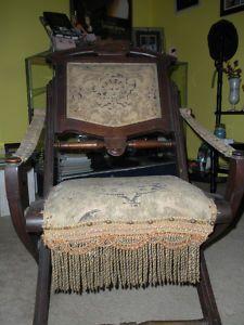 1880 Victorian Folding Chair