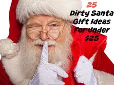 $10 Dirty Santa Gift Exchange Ideas | Santa gifts, Santa and Gift