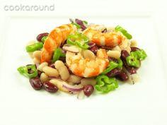 Insalata di gamberi, fagioli e lime: Ricette di Cookaround | Cookaround