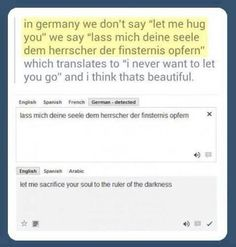 German is beautiful, lol, tumblr funny