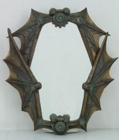 awesome Bat mirror, not vintage or antique