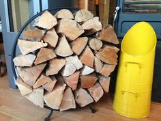 Log hoop and Kernow Cool Scuttles only available at Kernow Fires!  #KernowFires