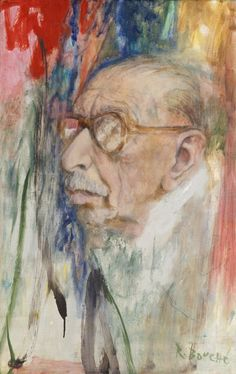 Igor Stravinsky. Oil on canvas, 1962, by René Robert Bouché. National Portrait Gallery, Smithsonian Institution.
