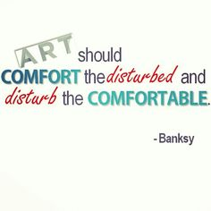 Art quote by #Banksy