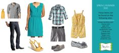 Spring Family Picture Clothing Ideas   Spring + Summer Looks :: Family Photo Ideas :: Minnesota Photographer ...