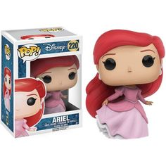 The Little Mermaid Ariel Gown Version Pop! Vinyl FigureOnly poor, unfortunate souls will miss out on this Disney Princess! From the classic Disney movie, the Ariel Pop! Vinyl figure has been redesigned wearing her beautiful pink dress. Disney Pop, Ariel Disney, Walt Disney, Disney Little Mermaids, The Little Mermaid, Mermaid Disney, Disney Princesses, Funk Pop, Pop Vinyl Figures