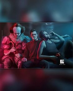 Attore: Bill Skarsgard Film: IT Serie tv: Hemlock Grove Horror Movie Characters, Horror Movies, Bill Skarsgard Pennywise, Bill Skarsgard Hemlock Grove, Skarsgard Family, Roman Godfrey, It The Clown Movie, Le Clown, Pennywise The Dancing Clown