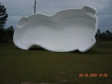 Fiberglass Inground Pools One Piece Installation Cost And