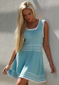 Oletha Free Dress Knitting Pattern - absolutely my favourite pattern soon to be commenced, already have the yarn waiting....