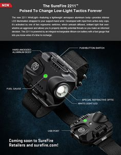 Tactical Gear and Military Clothing News : SureFire Promo for 2211 Wrist Light