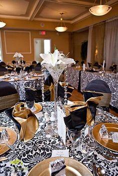 bling wedding theme ideas - Google Search