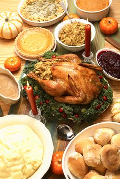 Thanksgiving Dinner - A More Accurate Historical Thanksgiving