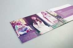 Quiksilver Annual General Report by Teesha Masson, via Behance