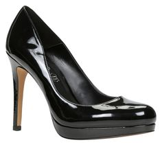 NUNZIATELLA Material: Leather Sole: Synthetic Lengthen your legs for days with these fabulous platform pumps. - Pump. - Front platform. - Towering heel. - Round toe. - Heel Height: 4.25 in. - Platform Height: 0.5 in.