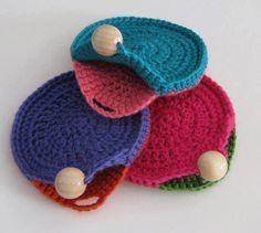 Niqueleiras de crochet