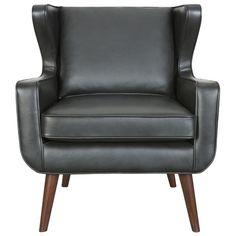 Head Down Option- Danish Wing Chair Essential Black