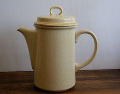 Garden Festival by Hearthside vintage stoneware by AtomicMagpie  #mcm #coffee #stoneware #retro #hearthside