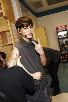 can i be the tattoo maker? | Kai at the lost planet in shanghai