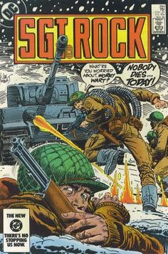 A cover gallery for the comic book Our Army at War Dc Comic Books, Vintage Comic Books, Comic Book Covers, Vintage Comics, Vintage Toys, Vintage Art, Comic Art, Dc World, Graphic Novel Art