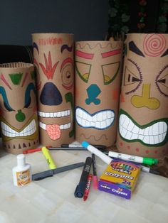 DIY Tiki mask Plus