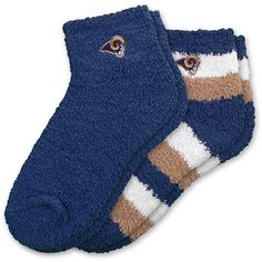 St. Louis Rams Women's Slipper Socks
