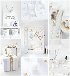 100 Christmas ideas - 5 themes - 18 white and bright Christmas inspirations