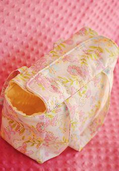 Como hacer una bolso de bebe