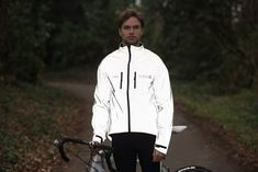 Proviz Mens Reflect360  Cycling Jacket Silver XSmall *** For more information, visit image link. (This is an affiliate link)