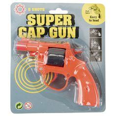 pistolet à amorces orange ou bleu