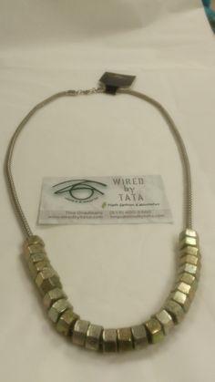 Hard Wear – Two Tone Treasure by WIREDbyTATA on Etsy