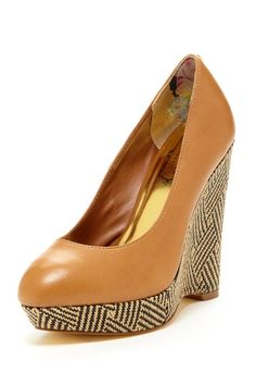 9d2fbb5155e739 Brandeey Wedge by Ted Baker on  HauteLook I Love My Shoes