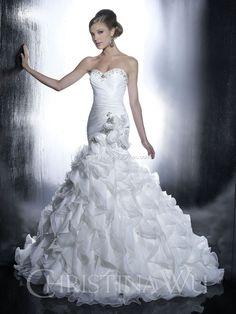 corset wedidng dress Christina Wu Wedding Dresses - Style 15513