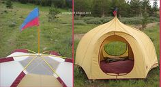Vintage Moss Tents and founder Bill Moss