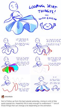 drawing drawing tips 44 Trendy Skirt Tutorial Drawi Sketch Inspiration, Drawing Techniques, Drawing Tips, Drawing Ideas, Drawing Base, Drawing Drawing, Drawing Stuff, Dress Drawing, Chibi Drawing
