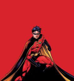 Robin Tim Drake Red Robin, Robin Dc, Batman Robin, Damian Wayne, Timothy Drake, Dc Icons, Univers Dc, Stephanie Brown, Batman Universe