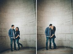 NYC engagement session at the NY Public Library. Captured by NYC wedding photographer Ben Lau.
