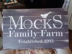 DIY Painted Sign  |  http://homeisright.blogspot.com/2011/09/sign-of-times.html