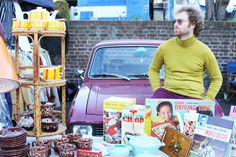 The Classic Car Boot Sale will park on Southbank this Saturday and Sunday - 100 classical cars filled with lots of vintage gems. >> More info: http://www.vintagefestival.co.uk/events/classic-car-boot-sale-14th-15th-march-2015-at-the-southbank-centre