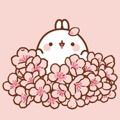 21 Trendy Ideas For Drawing Kawaii Pusheen Kawaii 365, Chibi Kawaii, Cute Chibi, Kawaii Cute, Doodles Kawaii, Cute Kawaii Drawings, Cute Doodles, Cherry Blossom Drawing, Cherry Drawing