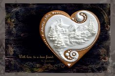 Winter cookie by Neli Josefsen | NELKA J on FLICKR