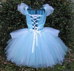 Cinderella costume for Peyton - back