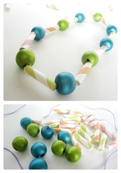 Check out the cute kids necklace craft we made for Summer Craft Camp at Creative Green Living! Summer Crafts For Kids, Summer Diy, Art For Kids, Summer Camp Activities, Fun Activities For Kids, Holiday Club, Kids Necklace, Camping Crafts, Preschool Crafts